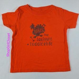 #ToddlerLife Turkey & Tantrums Tee 12M